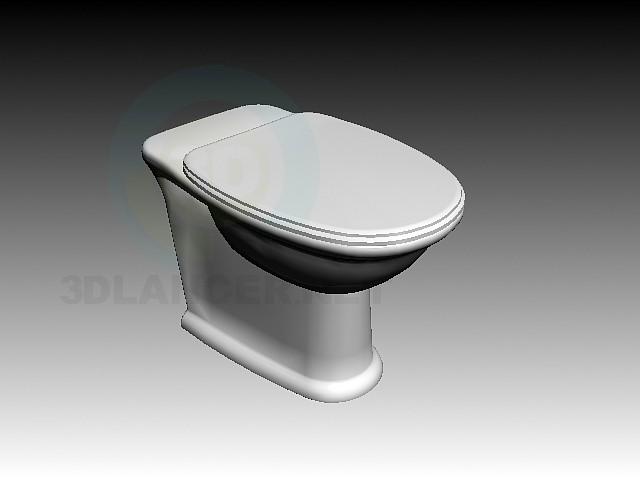 descarga gratuita de 3D modelado modelo Oscilación de Laufen WC