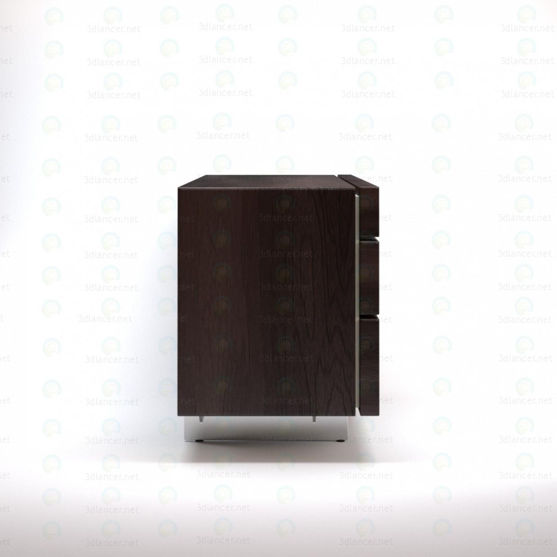 modelo 3D Aparador de Pandora - escuchar