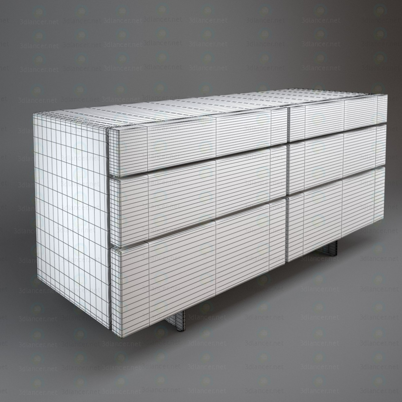 3d model Pandora dresser - preview