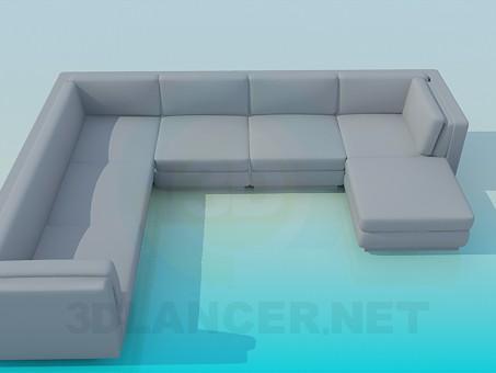 3d model Esquina de suave - vista previa