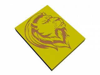 """Panel """"Lion"""""""