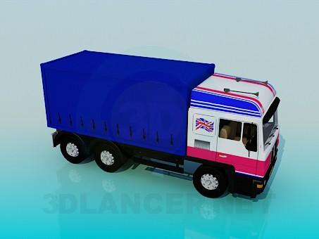 3d model Truck - preview