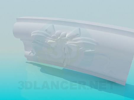 3d model Border Radius - preview