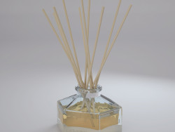 Aromatic diffuser with chopsticks