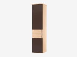 Modular one-door cabinet 1 (55,4х235,9х62)