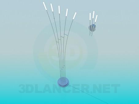descarga gratuita de 3D modelado modelo Sistema de iluminación