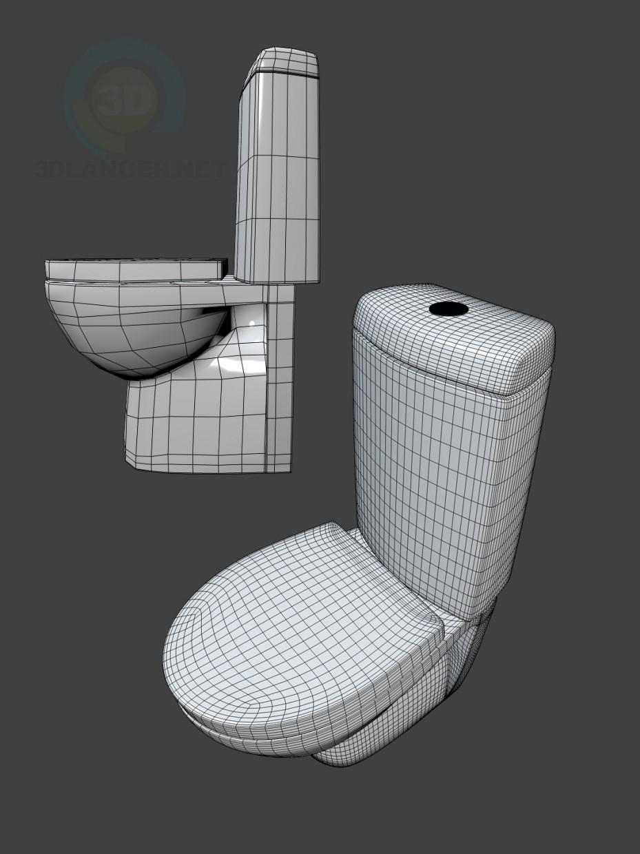 modelo 3D Inodoro ROCA Victoria nord (Victoria Nord) - escuchar