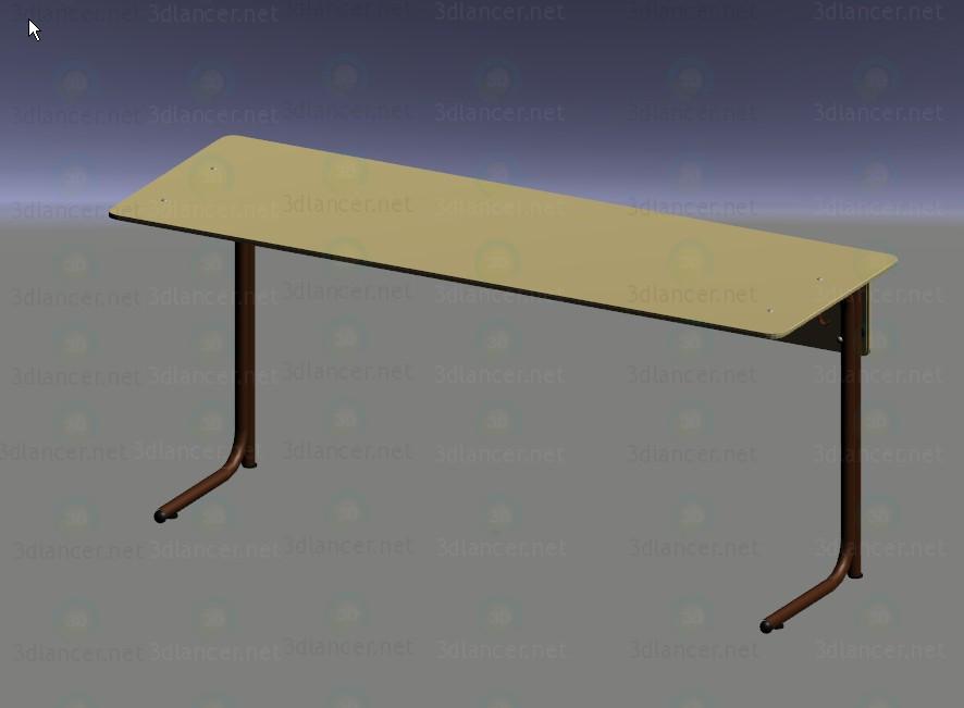 3d моделювання Шкільна парта модель завантажити безкоштовно