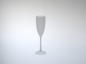 शैंपेन के लिए ग्लास