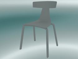 Sedia impilabile REMO sedia in legno (1415-20, grigio cenere)