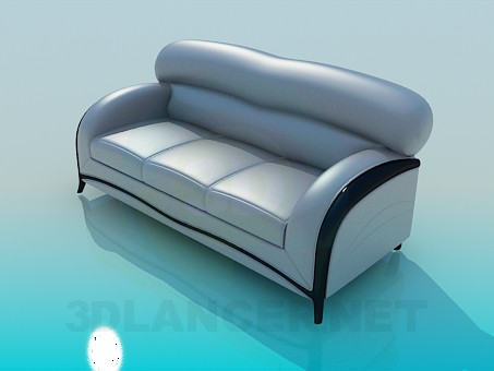 3d model Sofa soft - preview