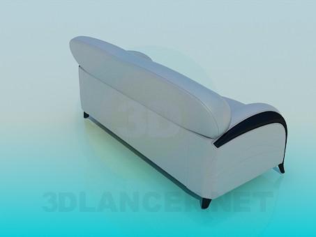 modelo 3D Sofá suave - escuchar