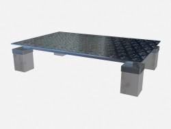 Журнальный стол на мраморных ножках Tourandot Z02