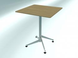 Table pliante SELTZ basic (60X60 H72 étalée)