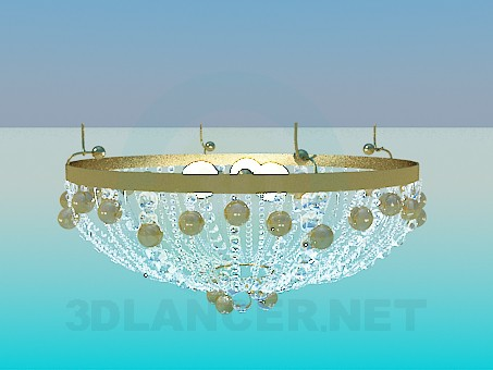 3d model The chandelier in the Oriental style - preview