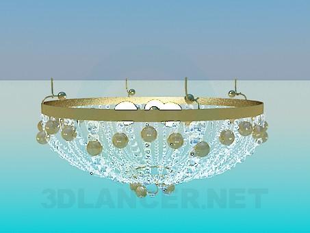 3d modeling The chandelier in the Oriental style model free download