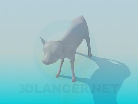 3d model Calf - preview