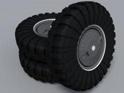 Wheels on BTR 80