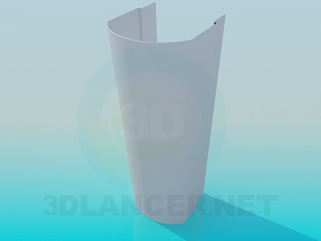 3d model Stem for sink - preview