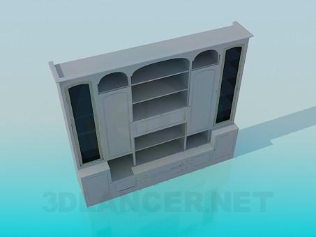 3d model Symmetric big rack - preview