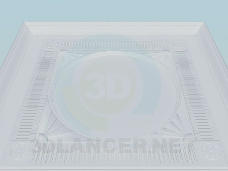 3d model The dome of gypsum - preview