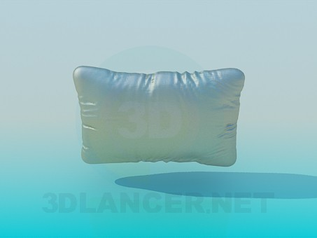 3d modeling pillow model free download