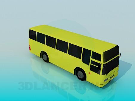 Scarica di Autobus modello gratuito di modellazione 3D