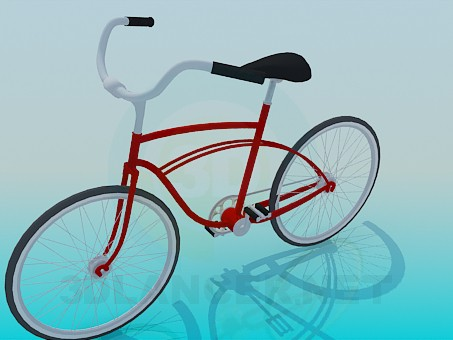 3d modeling Bicycle model free download
