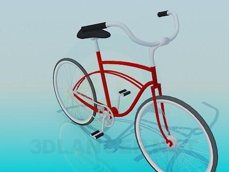 modelo 3D Bicicleta - escuchar