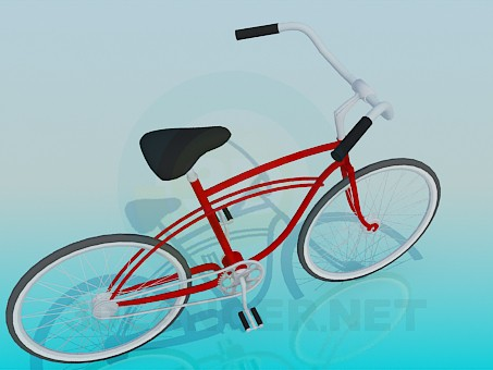3d model Bicycle - preview