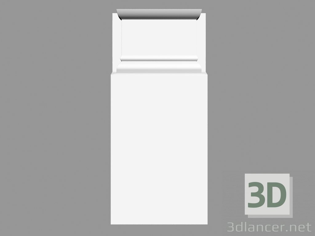 3d model Pedestal (PN8) - preview
