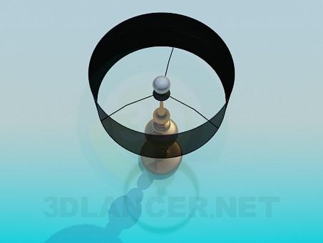3d модель Настільний торшер – превью