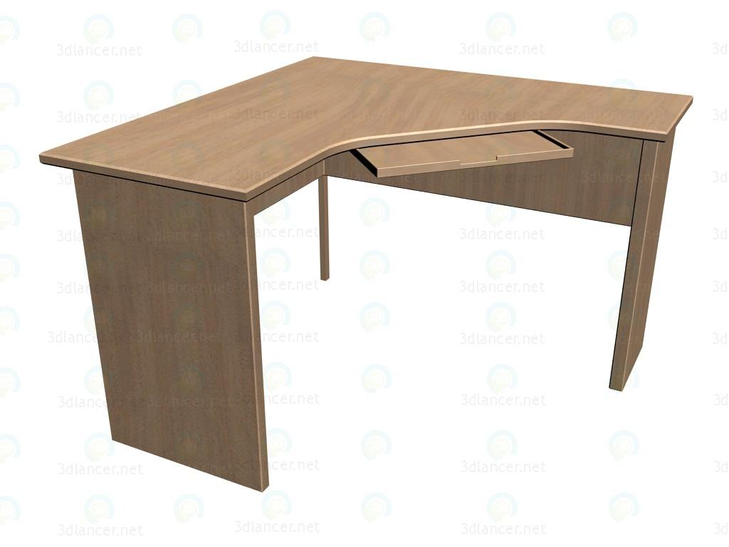 Modelo 3d mesas de ordenador esquina 26s441 del fabricante for Mesas para esquinas