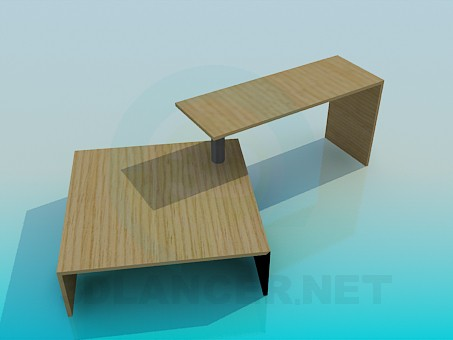 3d model Furniture set - preview