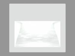 Recessed दीवार प्रकाश स्थिरता EOS वर्ग (S4605)