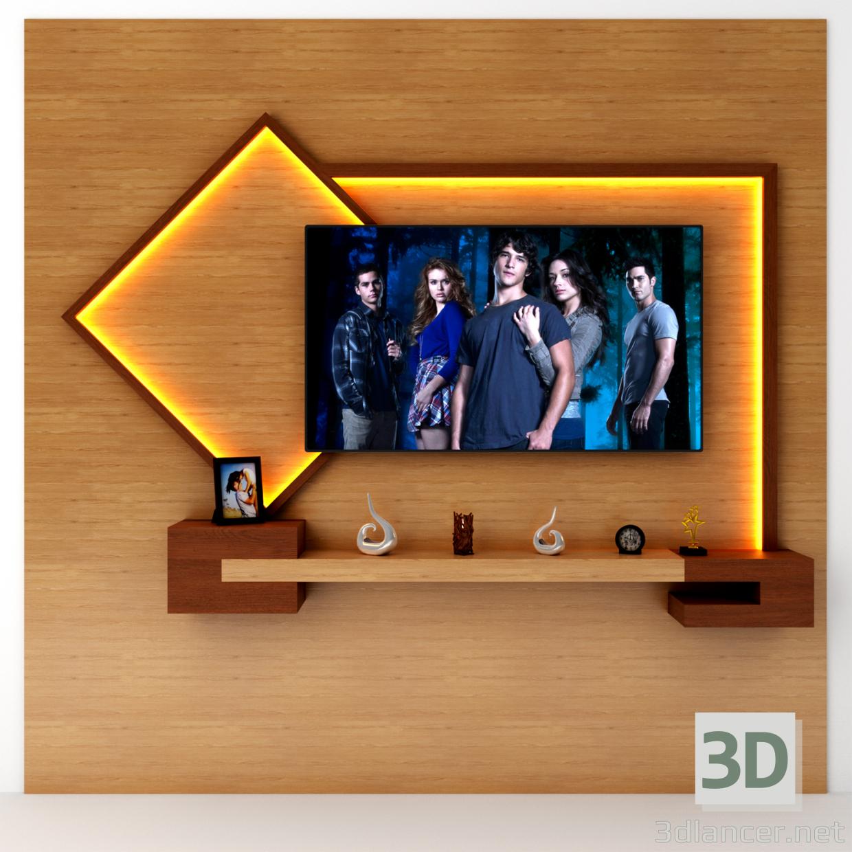 3d Polka tv model buy - render