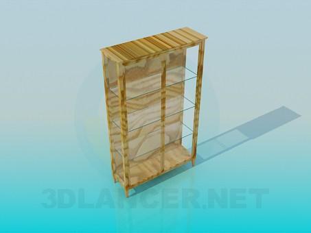descarga gratuita de 3D modelado modelo Librería de cristal