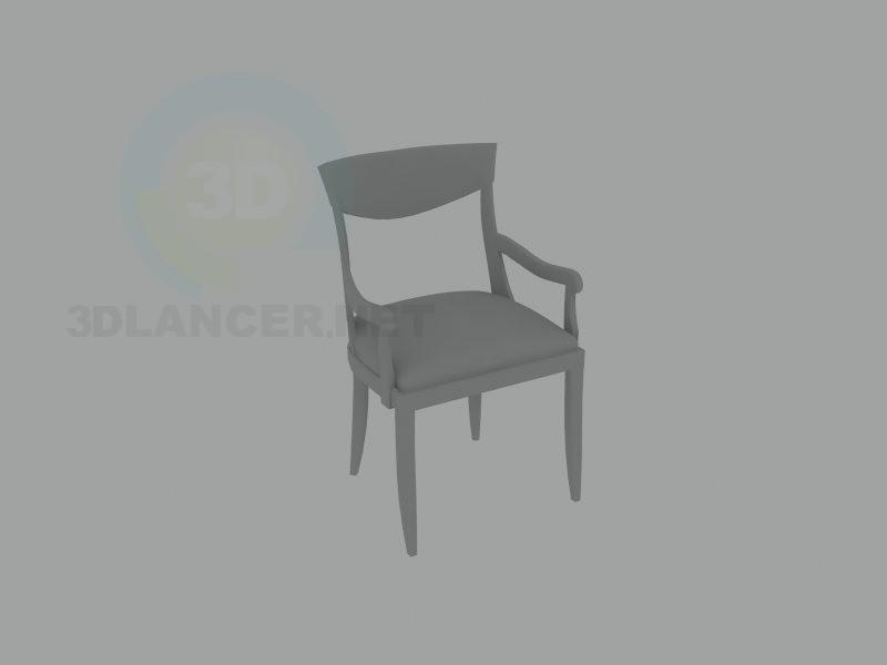 3d модель стул классика – превью