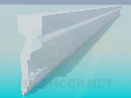 3d model Baguette - preview