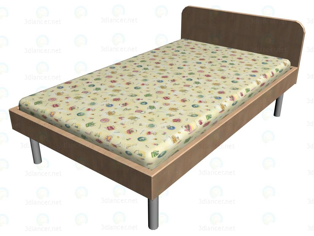 3d моделювання Ліжко 26K 211 модель завантажити безкоштовно