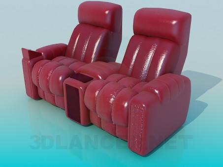 3d модель Кресло массажное – превью