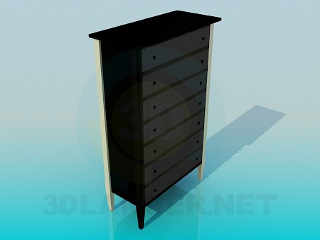 modelo 3D Highboy - escuchar