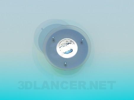 descarga gratuita de 3D modelado modelo Lámpara halógena