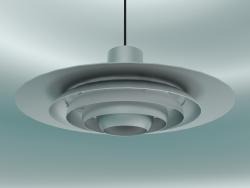 Lampada a sospensione P376 (KF1, Ø47.5cm, H 19cm, Alluminio)