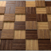 3d model Wooden mosaic - preview