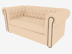 Sofa 5M Chesterfield (Double)