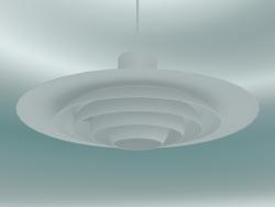 Lampada a sospensione P376 (KF1, Ø47.5cm, H 19cm, Bianco)