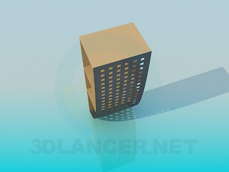 3d model A small rack - preview