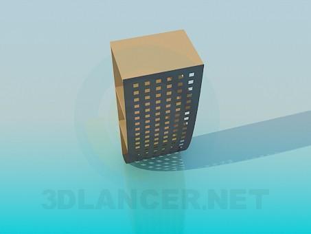 3d модель Невеликий стелаж – превью
