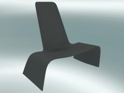 Poltrona LAND lounge chair (1100-00, grigio basalto)